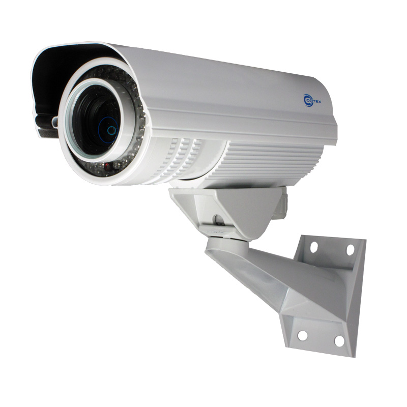 0f6fb960f29 VF Anti Vandal IR Outdoor Bullet SDI Security Camera with 5-50mm lens side  view ...