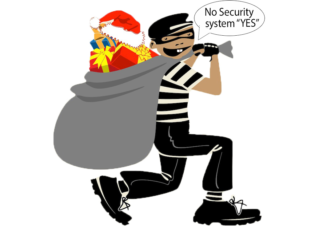 See what happens without proper security during Christmas Holiday season