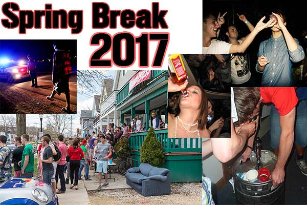 without proper security camera deterrents during spring break some spring breakers may feel embolden to commit crime.