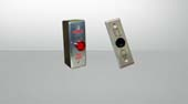 Outdoor access control security door exit device