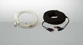 Plug and Play security camera wire and cable accessories