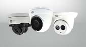 Transport Video Interface (TVI) dome security cameras