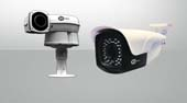 Network Outdoor security cameras