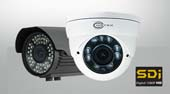 Network SDI security cameras