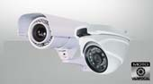 Varifocal bullet, dome, hidden security cameras