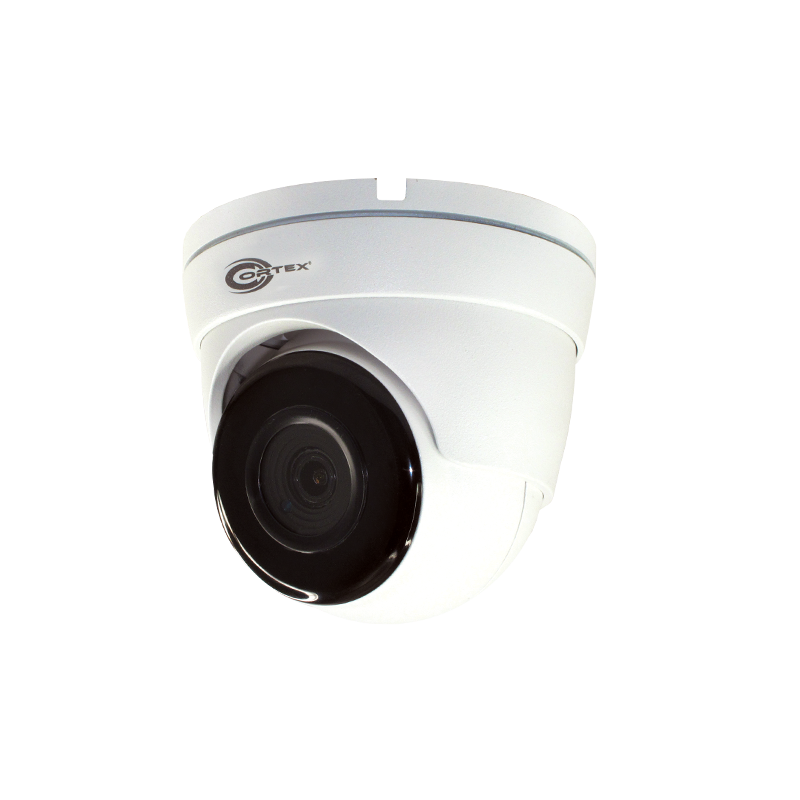 Medallion 8MP Wide Angle Network IR Turret Camera