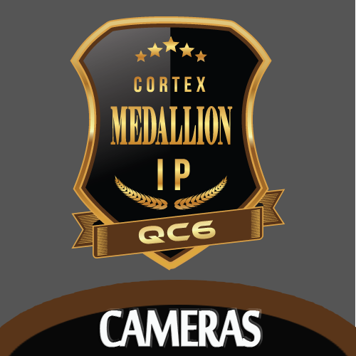 Cortex has unveiled it's latest offering in professional video surveillance solutions with their new 4K CCTV IP Medallion security cameras