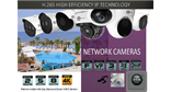 Cortex surveillance security H.265 High Efficiency IP Technology