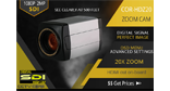Cortex® SDI (Serial Digital Interface) full size Cortex® HDZ20 zoom lens security camera