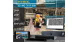 Cortex  four in one Hybix series digital and network recorders