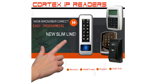 Cortex surveillance access control IP Network Card readers.