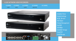 H.265 Network Video Recorders 4,8,16,16 / 32POE