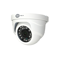 Outdoor Mini Dome 1080P HD-SDI Security Camera with Digital over coax  side view