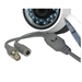 Cable connection view 1080p 4 in 1 Outdoor Bullet CCTV camera with wide angle lens