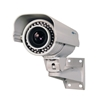 Side view HF44 series Hybrid Outdoor Bullet LPR AHD Security Camera with 5-50mm Long Range IR and Panasonic Sensor
