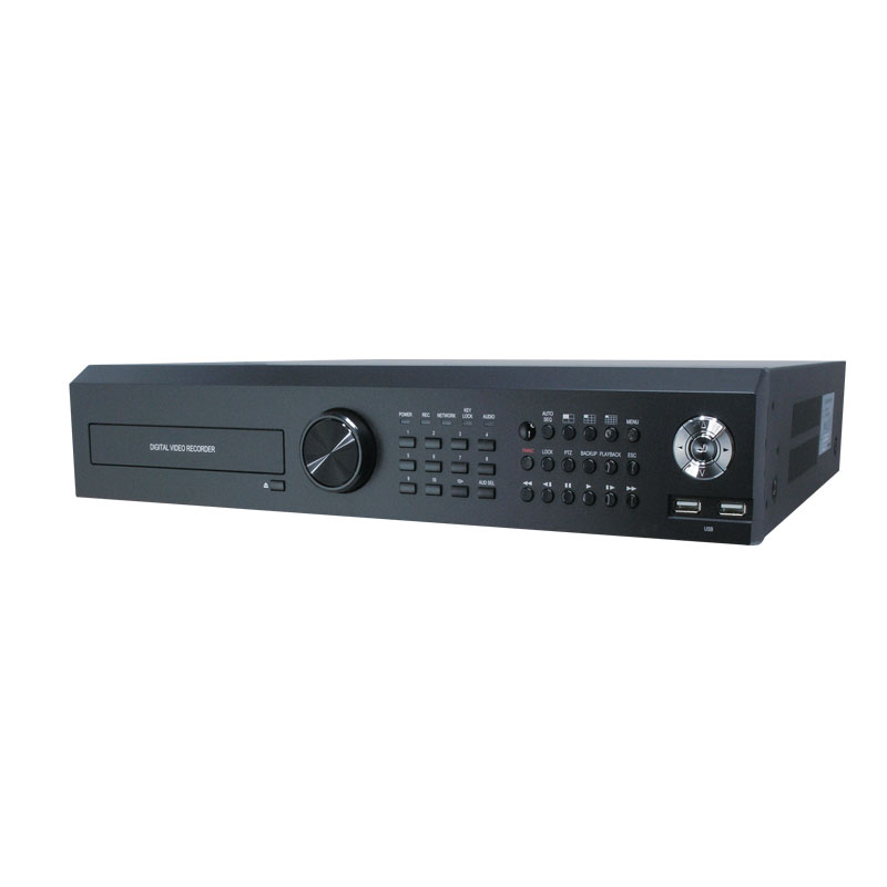The COR-HYBIX16NV NVR is a 16 Channel IP Network embedded-Linux NVR
