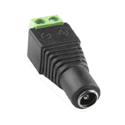 2.1mm Female Terminal Block Power Connector plug, pigtail, 2.1, wire, screw down, connector, terminal, block