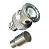 2-piece male crimp-on BNC connector for RG-59, 62