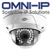 3 Megapixel IP66 1080p HD-TVI  Rugged Dome with POE and IR Super Beam LED - KT-p3DR4IR