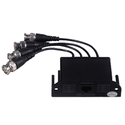 4-CH Passive Video Transceiver for HD CCTV Cameras DC ,8MHz, 4-CH ,Passive ,VideoTransceiver, HD CCTV Cameras Balun, Converter for CCTV Cameras, video Balun for CCTV Cameras
