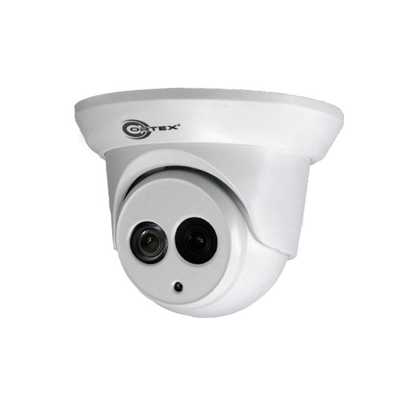 Medallion 5MP Network Camera with IR and 2.8mm wide angle lens