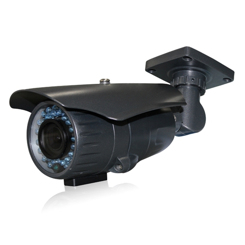 Black 720p CVI Bullet Security Camera with 2.8-12mm VF Len