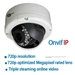 960H Outdoor Varifocal  Dome with Power Over Ethernet - ECL-IPD7
