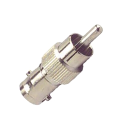 BNC-female-to-RCA-male adapter cable connectors, , video, audio, BNC connectors, BNC female-to-female, splice
