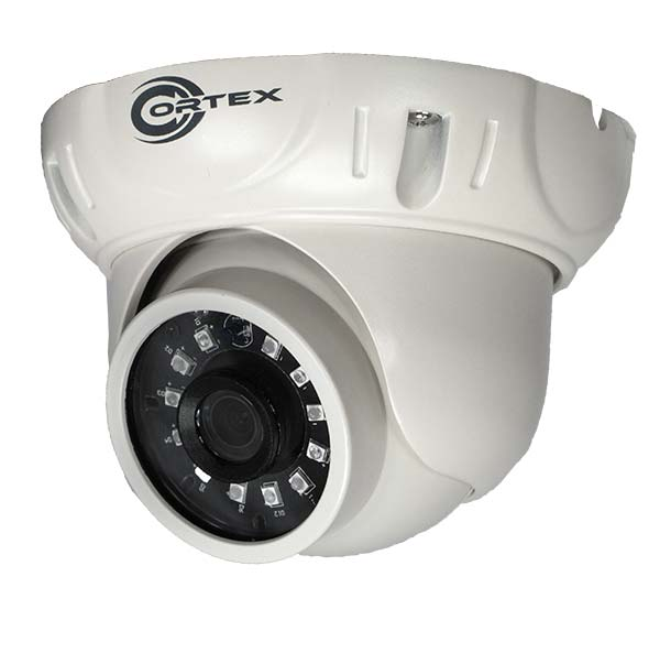 Hybrid AHD Outdoor IR Dome Camera with Sony® Cmos Smart Noise Reduction