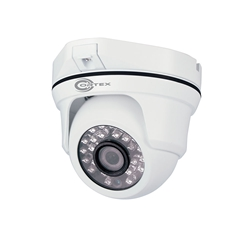 HF series E and M Hybrid AHD Outdoor IR Dome Camera with Smart Noise Reduction