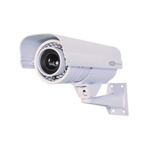 1080p Hybrid AHD Security Camera Outdoor Bullet with 5-50mm Long Range IR Lens