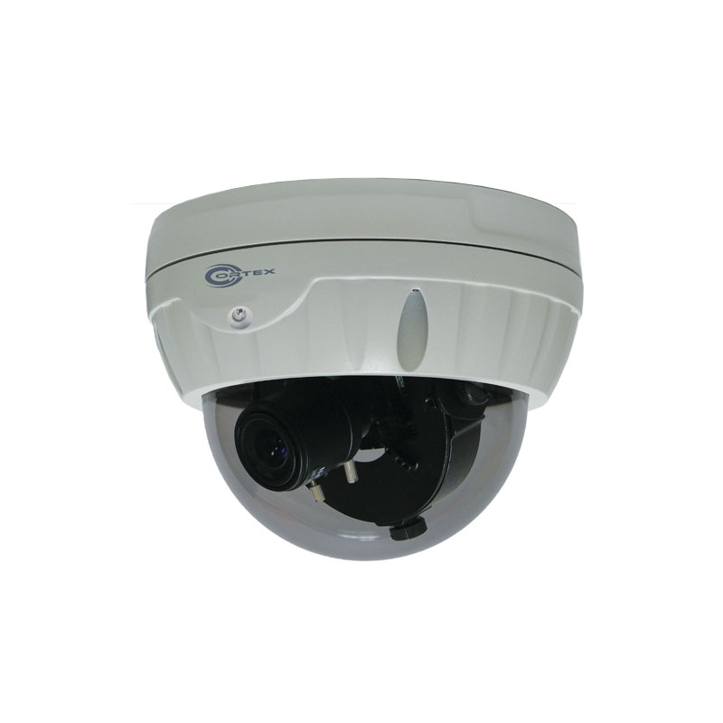 The HF77DPS high intensity IR LED lets this dome operate in complete darkness with no glare or infrared reflections