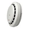 Side view of Cortex HFSMK Hybrid AHD and Analog Smoke Detector Covert Camera with  4.3mm Pin Hole Lens