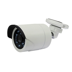 IP 720P Outdoor Bullet with IR and 3.6mm HD Lens plus POE IP Camera, outdoor IP camera, POE bullet camera, POE mini IPC