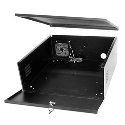 Indoor Lock Box (medium) indoor, bracket, lock, box, dvr box
