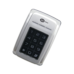 Outdoor Proximity Card Reader w/Keypad Display in Metal Case control panels,proximity cards,proximity fobs,magnetic door locks,electric door locks,exit buttons,video door phones,electric door hardware,network control panel,OSD programming keyboard,electric door hardware,exit device,microwave motion sensor,wireless relay kit,lock bracket kit,magnetic door lock,Z bracket,magnetic lock,keyfob,biometric fingerprint reader,3-way adaptable reader,fingerprint scanner,doorbell video camera,video door phone,video door station ,electric door locks,Exit Control Buttons,