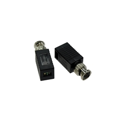 Passive-Baluns Connects BNC Coax-Cable to a pair of-bare wires.aspx CCTV video baluns, UTP baluns, UTP video baluns, baluns, video baluns,video transceivers,video receivers,active, passive,balances,impedance,un-equal cables,audio/video transceiver,video balun with serial data filter,active amplified hub,signal filter,receiver/amplifier,audio/video balun receiver,audio/video balun transmitter