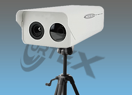 Dual System thermal camera plus CCD camera temperature monitoring system for long distance Permanent or tripod mounted COR-TM50E thermal imaging CCTV Security Camera , thermal camera, thermal cctv, airport thermal, thermal cameras, cctv thermal cameras,960H thermal cameras, temperature cameras